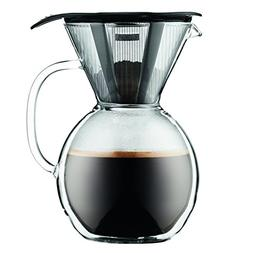 Bodum 11672-01 8 Cup Double Wall Pour Over Coffee Maker wit