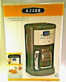BELLA 12-Cup Brewing Coffee Programmable Maker #14015 Polish