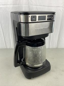 Hamilton Beach 46310 Programmable Coffee Maker Black