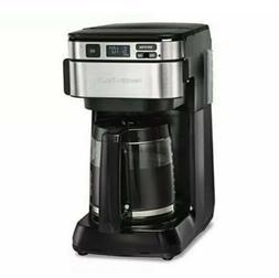 Hamilton Beach 46310 Programmable Coffee Maker, 12 Cups, Bla