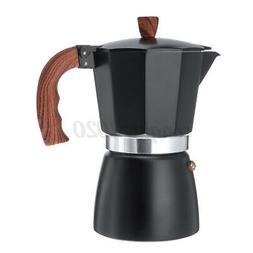 6 cups moka coffee maker pot stovetop