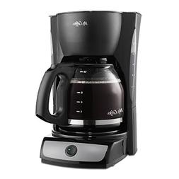 Mr. Coffee CG13-RB 12-Cup Switch Coffeemaker, Black