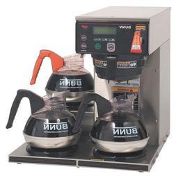 BUNN 38700.0003 AXIOM-35-3 200 Ounce Coffee Brewer w/ 3 Lowe