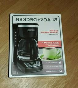 BLACK AND DECKER 12-CUP PROGRAMMABLE COFFEE MAKER BRAND NEW