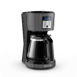 Black & Decker 12-Cup Programmable Coffeemaker Vortex Techno