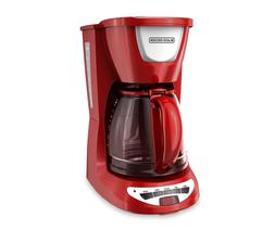 Black & Decker Red 12-Cup Programmable Coffee Maker DCM100R