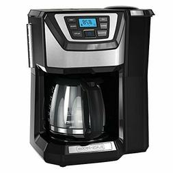 BLACK+DECKER 12-Cup Mill and Brew Coffeemaker, Black, CM5000