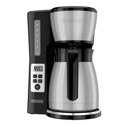 BLACK+DECKER 12-Cup Thermal Programmable Coffeemaker CM2046S