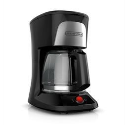 BLACK+DECKER CM0555B 5-Cup Coffee Makers - Black