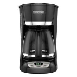 BLACK+DECKER CM1060B 12-Cup QuickTouch Programmable Coffeema