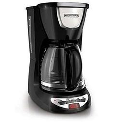 Black & Decker DCM100B 12-Cup Programmable Coffeemaker with