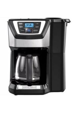 BLACK+DECKER Mill and Brew 12-Cup Programmable Coffee Maker
