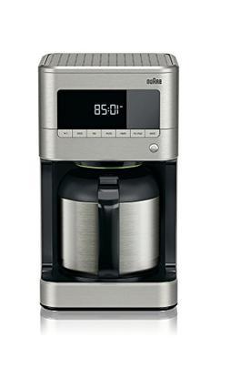 Braun KF7175 Braun Sense Thermal Drip Coffee Maker, Stainles