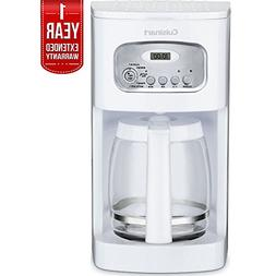 Cuisinart Brew Central 12-Cup Programmable Coffeemaker White