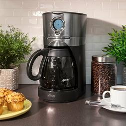 Mr. Coffee BVMC-VMX38-DS Black Stainless Coffee Maker