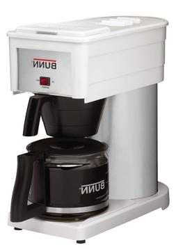 BUNN BXW Velocity Brew 10-Cup Home Coffee Brewer, White