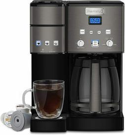 Cuisinart SS-15BKS Coffee Center Maker, Black Stainless