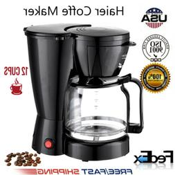 Coffee Maker 10 Cups Machine Drip Filter Glass Carafe Automa