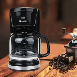 Coffee Maker 12 Cups Machine Drip Filter Glass Carafe Automa