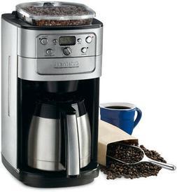 Cuisinart Coffee Maker Bean Grinder Brew Machine Kitchen Bru