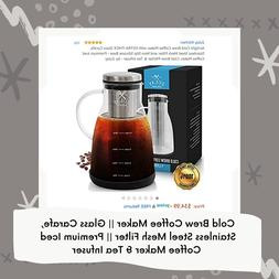 Cold Brew Coffee Maker & Tea Infuser
