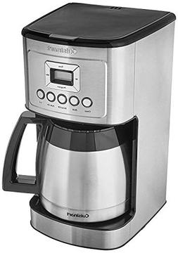 Cuisinart DCC-3400 Stainless Steel Thermal Coffeemaker, 12 C