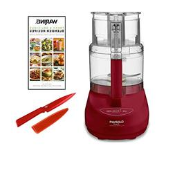 Cuisinart DLC-2009MRY 9-Cup Food Processor, Red Includes Red
