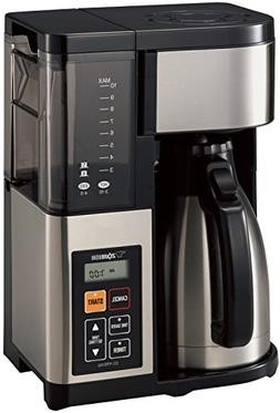 Zojirushi EC-YTC100XB Coffee Maker, 10 Cup, Stainless Steel/