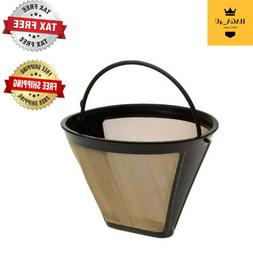 Cuisinart filter - permanent gold tone - coffee maker basket