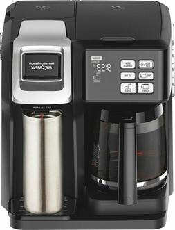 Hamilton Beach - FlexBrew 12-Cup Coffee Maker - Black