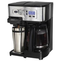 Hamilton Beach 2-Way FlexBrew Coffeemaker  - Programmable -