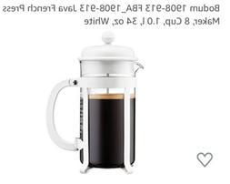 bodum French Press Coffee Makers 34 oz White 1918 VHTF!!