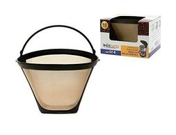 GoldTone Reusable #4 Cone Coffee Filter for ALL Cuisinart Co