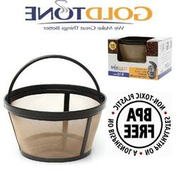 GoldTone Reusable 8-12 Cup Basket Coffee Filter for Mr Coffe