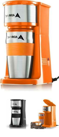 Grab N' Go Personal Coffee Maker with 15 oz. Travel Mug Sing