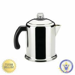 Heavy Duty Stove Top Percolator Yosemite Coffee Pot Maker 8-