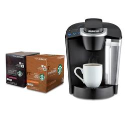 Keurig K-Classic K50 Coffee Maker With Starbucks 48 Count Po