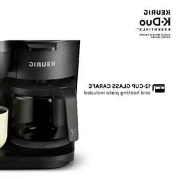 Keurig K-Duo Essentials Coffee Maker, with Single Serve K-Cu
