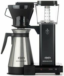Moccamaster KBT 10-Cup Coffee Brewer with Thermal Carafe, Bl