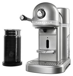 KitchenAid KES0504 Nespresso Espresso Maker with Milk Frothe