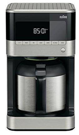 Braun KF7155BK Thermal Carafe Coffeemaker, Black