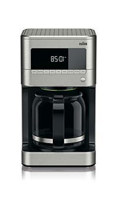 Braun KF7170SI BrewSense Drip Coffeemaker, 12 Cup, Stainless