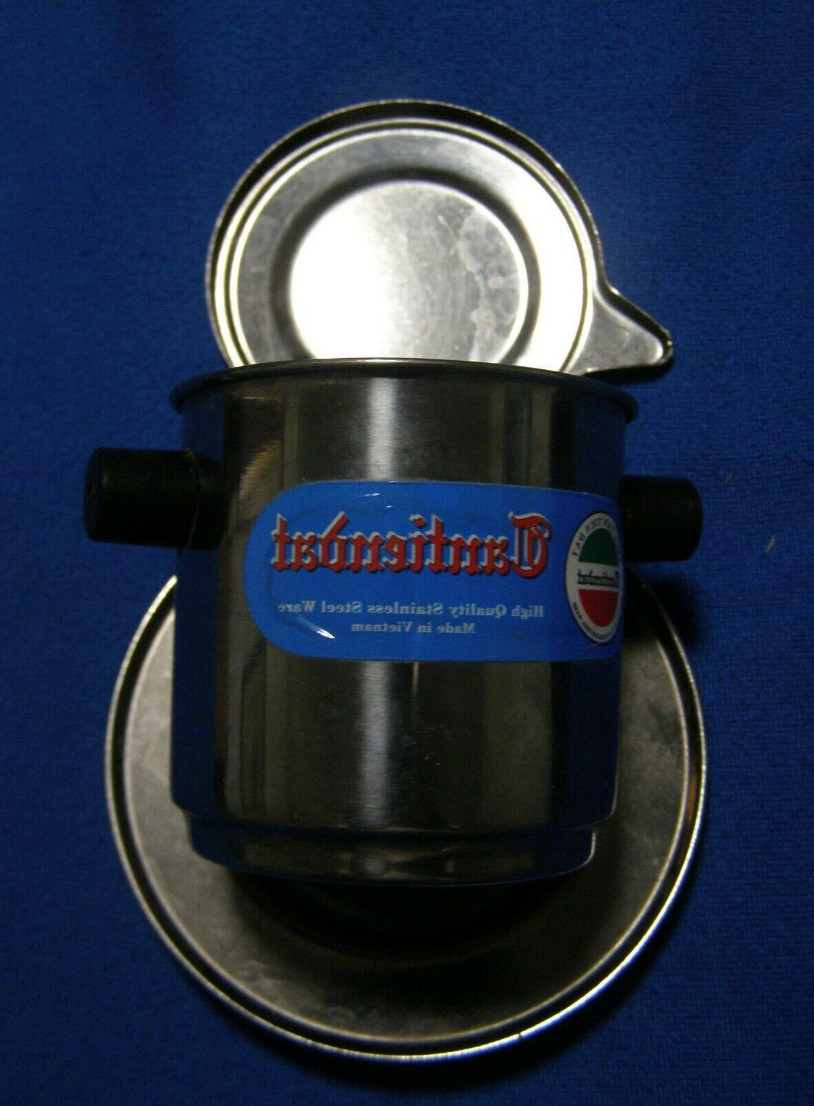 2 Cantiendat Stainless Steel Individual Makers Infusers
