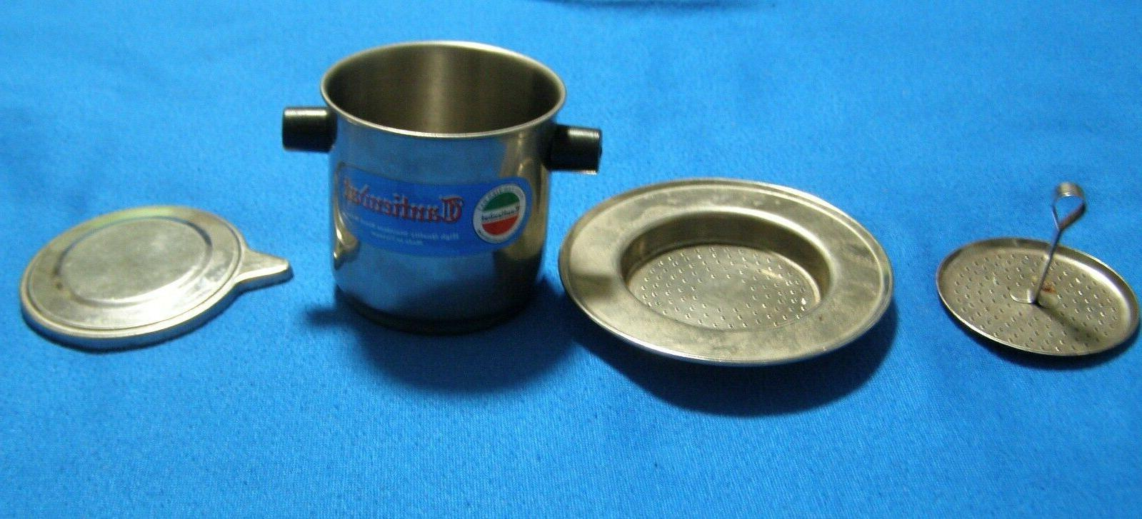 2 Stainless Steel Individual Coffee Filters Infusers