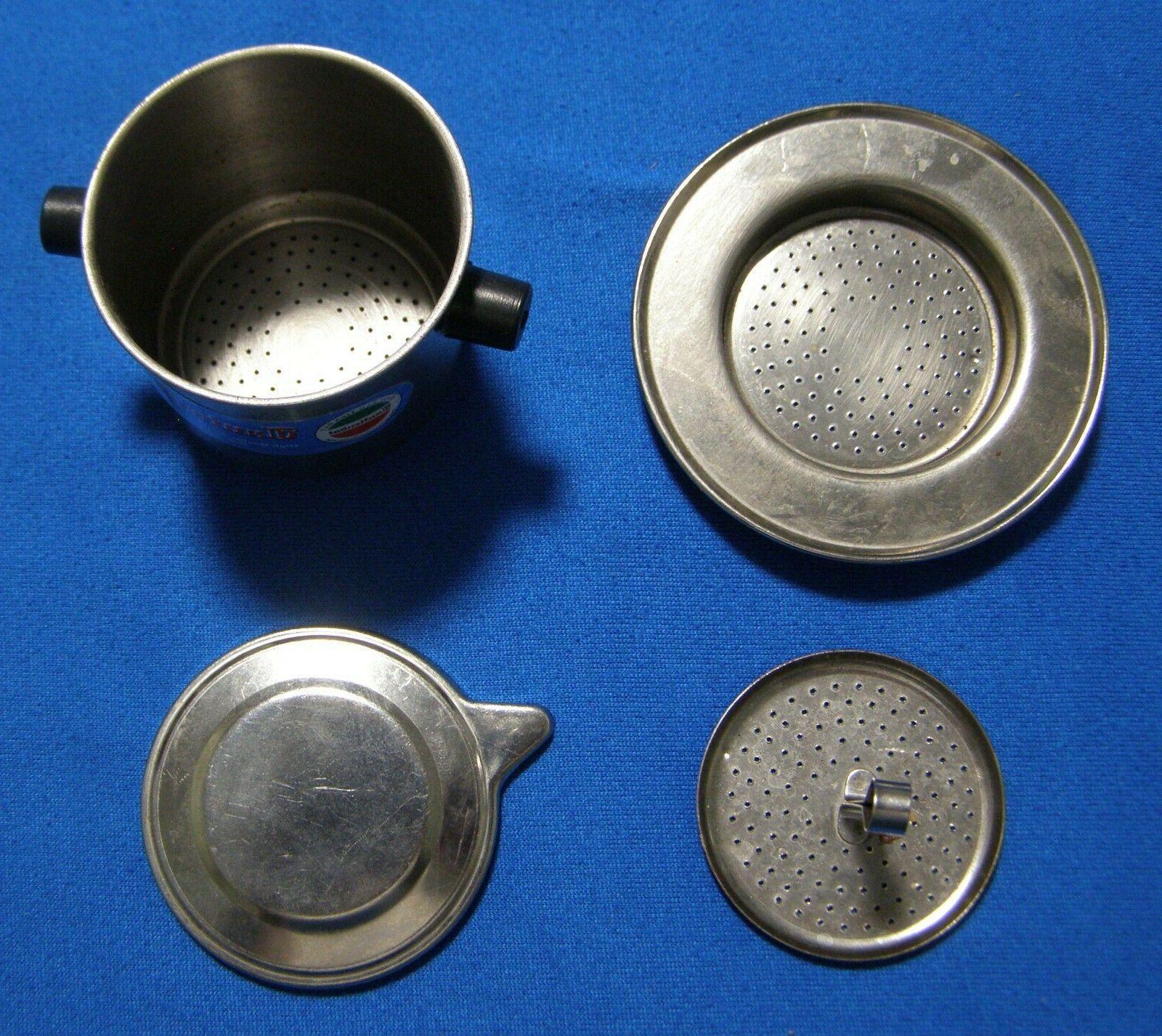 2 Cantiendat Steel Individual Coffee Makers Infusers