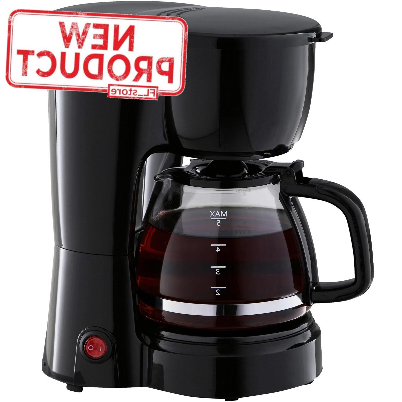 5 cup coffee maker brew pot kitchen
