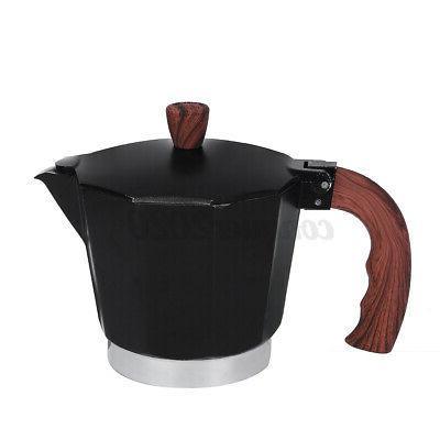 6 Cups Maker Pot Stovetop Italian Espresso