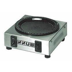 Bunn 6450.0004 Electric Coffee Pot Warmer - Single Burner by