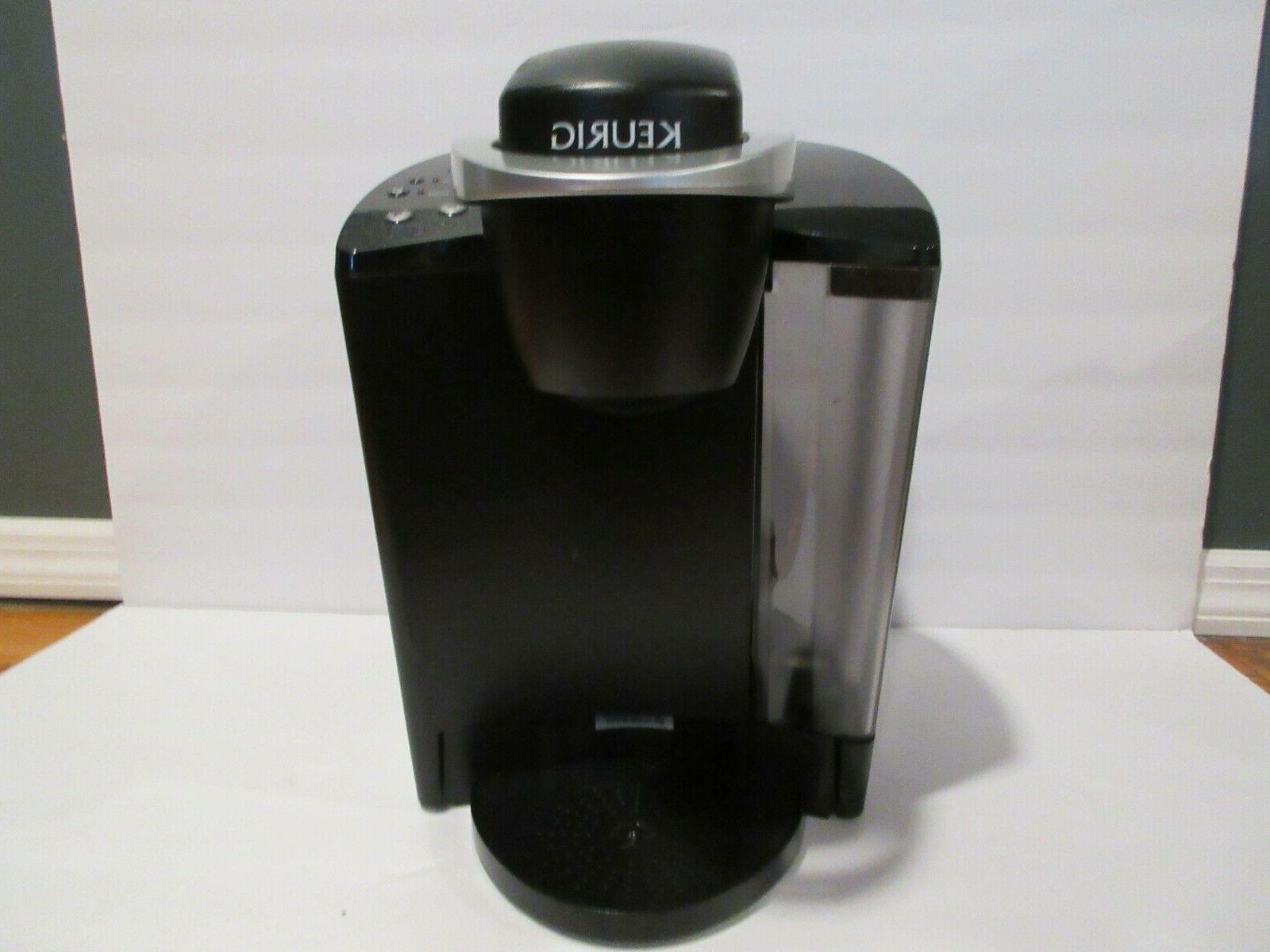 black single serve cup brewing system coffee