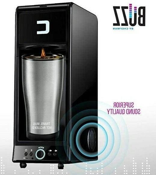 Chefman Coffee Maker K-Cup BUZZ Brewer with Bluetooth Enable